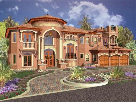 Best Florida House Plan 5 Bedrooms 6 Bath 6679 Sq Ft Plan With Pictures