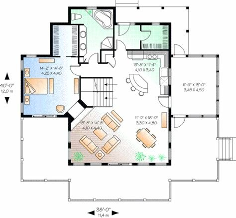 Best Coastal House Plan 3 Bedrooms 2 Bath 1832 Sq Ft Plan 5 745 With Pictures