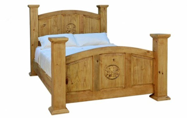 Best Traditional Mansion Bed With Texas Star King Size With Pictures