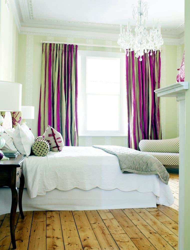 Best Striped Curtains In The Bedroom Fun Interior Design With Pictures