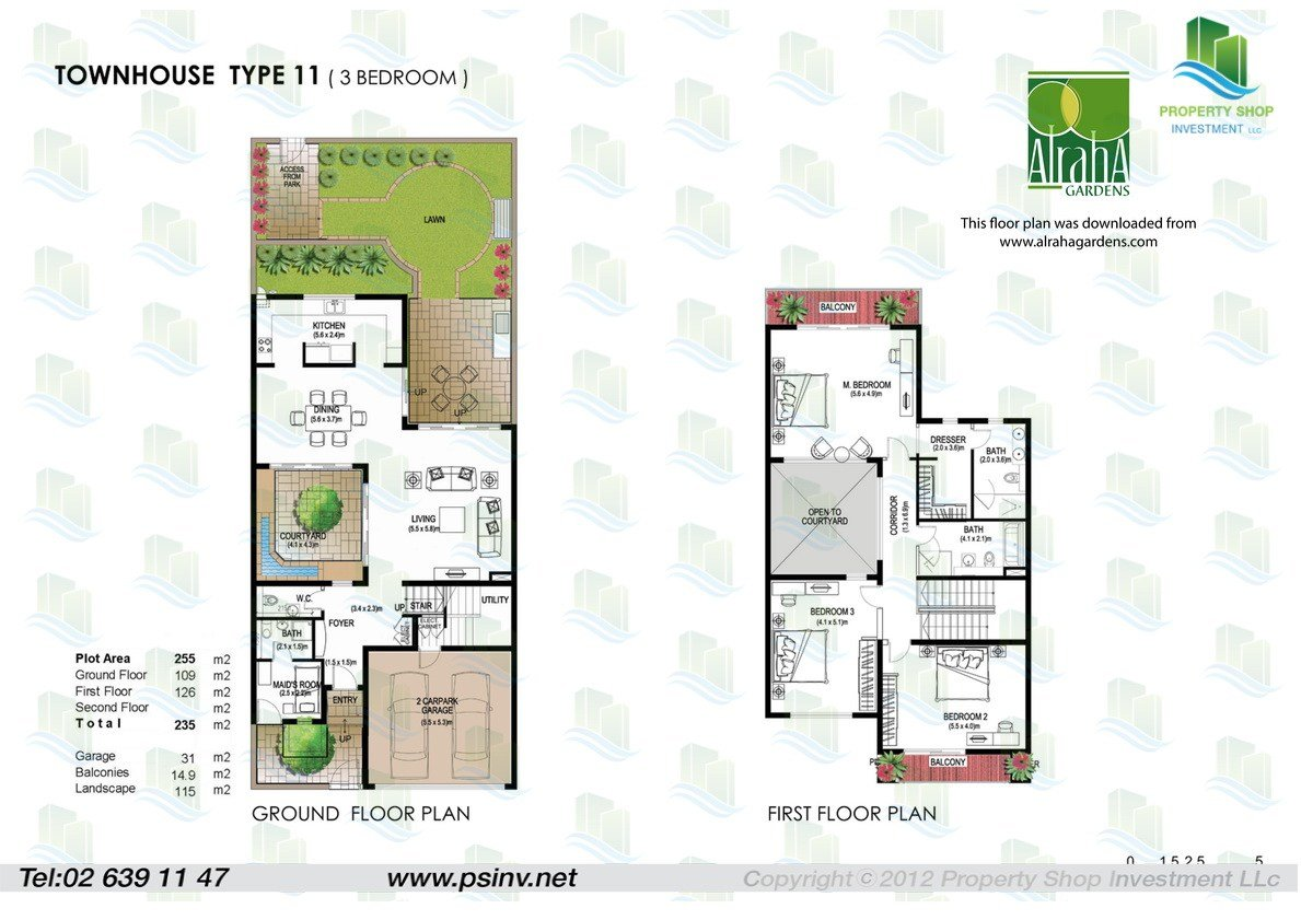 Best 3 Bedroom Townhouse S In Al Raha Gardens Abu Dhabi With Pictures