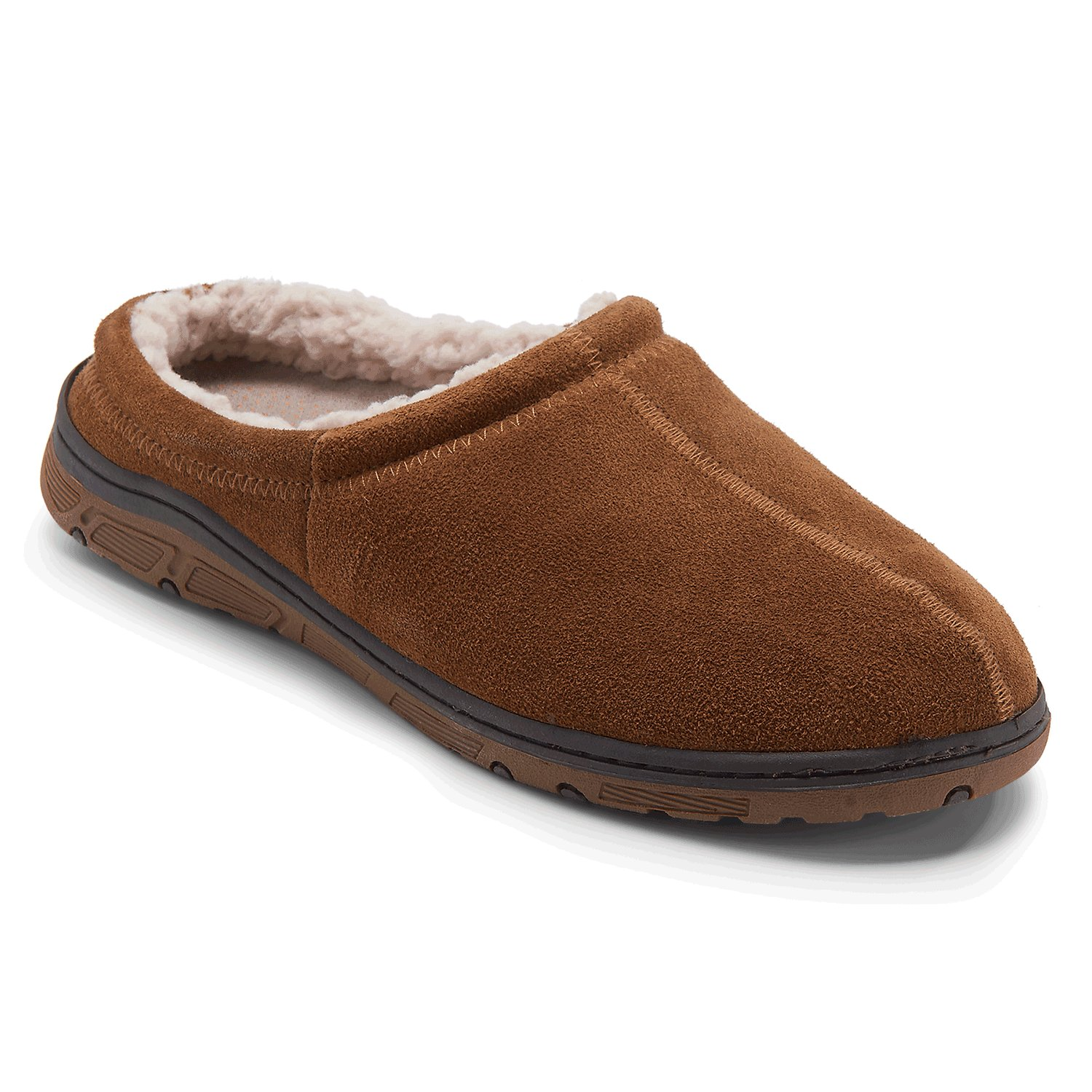 Best Genuine Suede Clog Slipper Men S Slippers Rockport® With Pictures