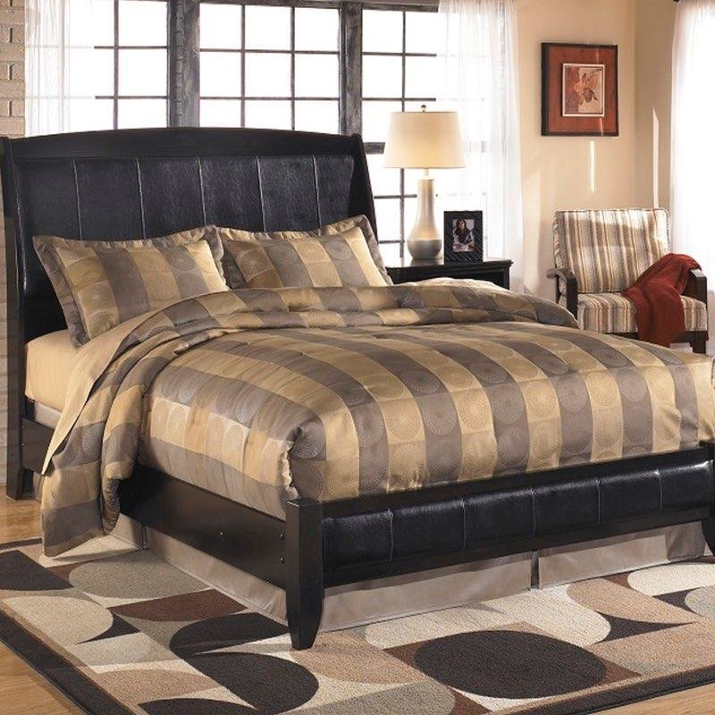 Best Harmony Queen Sleigh Bed With Pictures