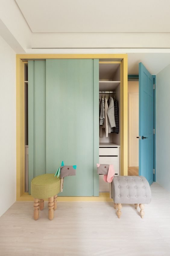 Best 13 Cute Wardrobe Designs For Your Kids Bedroom Recommend With Pictures