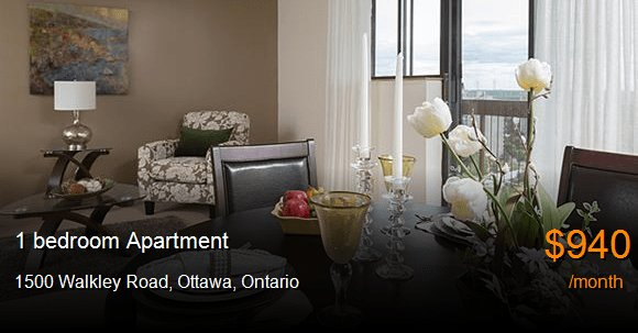 Best 1500 Walkley Rd Ottawa Apartment For Rent B6899 With Pictures