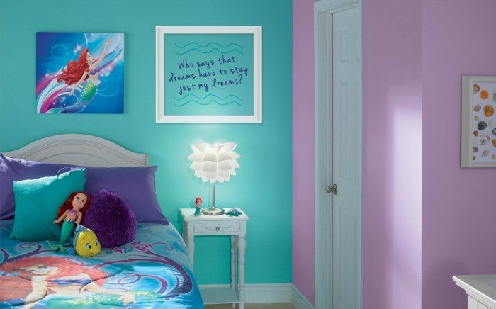 Best Little Mermaid Bedroom Decor Colors And Ideas Renocompare With Pictures