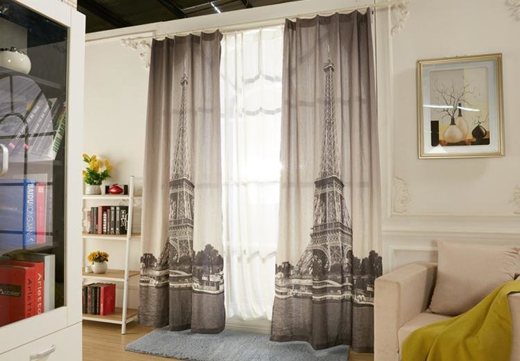Best Eiffel Tower Bedroom Curtains Bedroom Design Ideas With Pictures