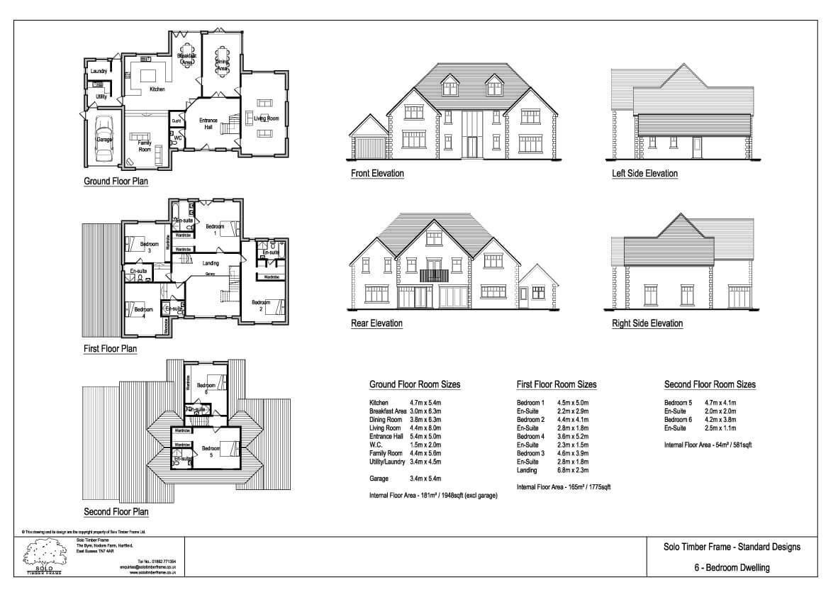 Best Ghylls Lap 6 Bedroom House Design Designs Solo Timber Frame With Pictures