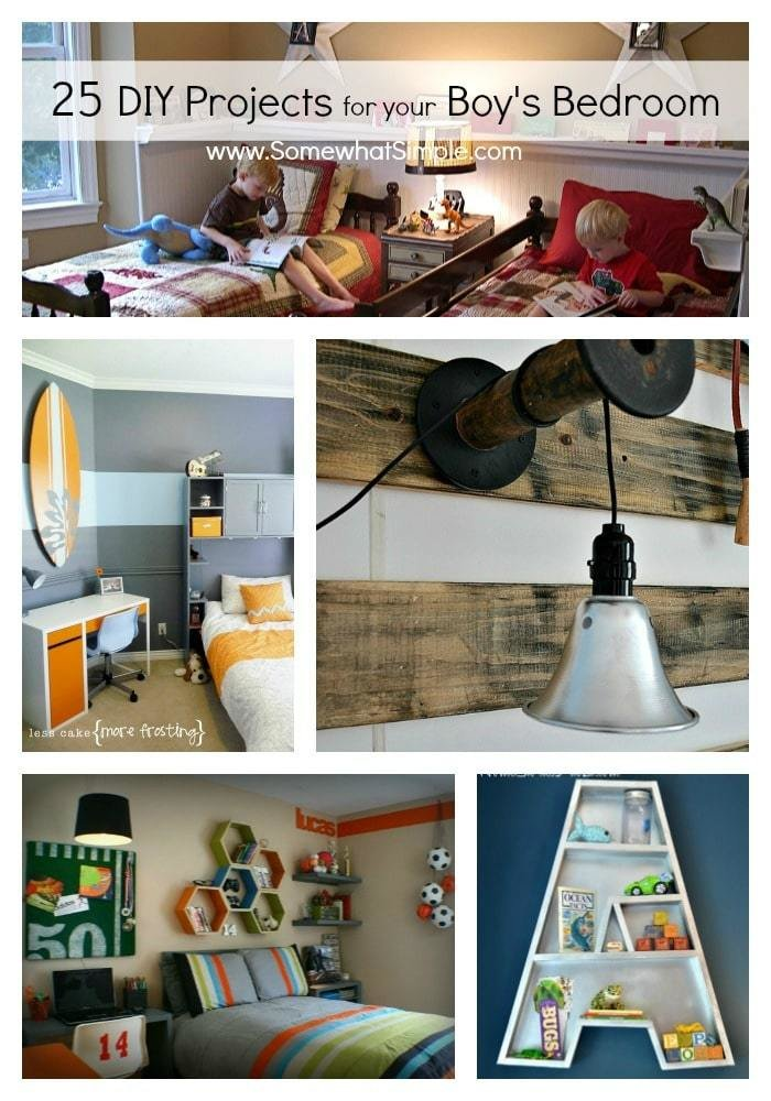 Best Diy Boy Bedroom Projects 25 Ideas That Your Boy Will With Pictures