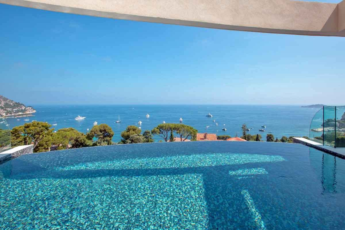 Best Cote D Azur Luxury Holiday Villa With Heated Pool To Rent In Eze With Pictures