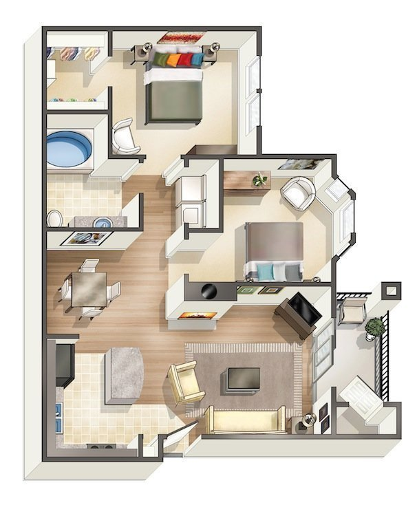 Best Prodigious 3 Bedroom Apartments In Houston Part 10 With Pictures