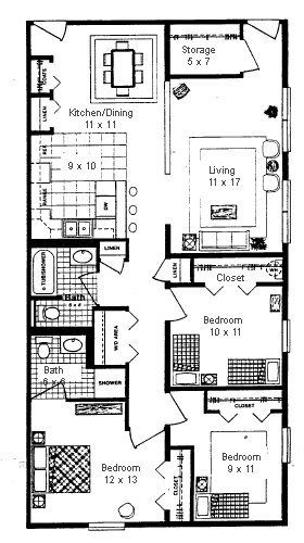 Best Average Size Of A 2 Bedroom House Www Indiepedia Org With Pictures