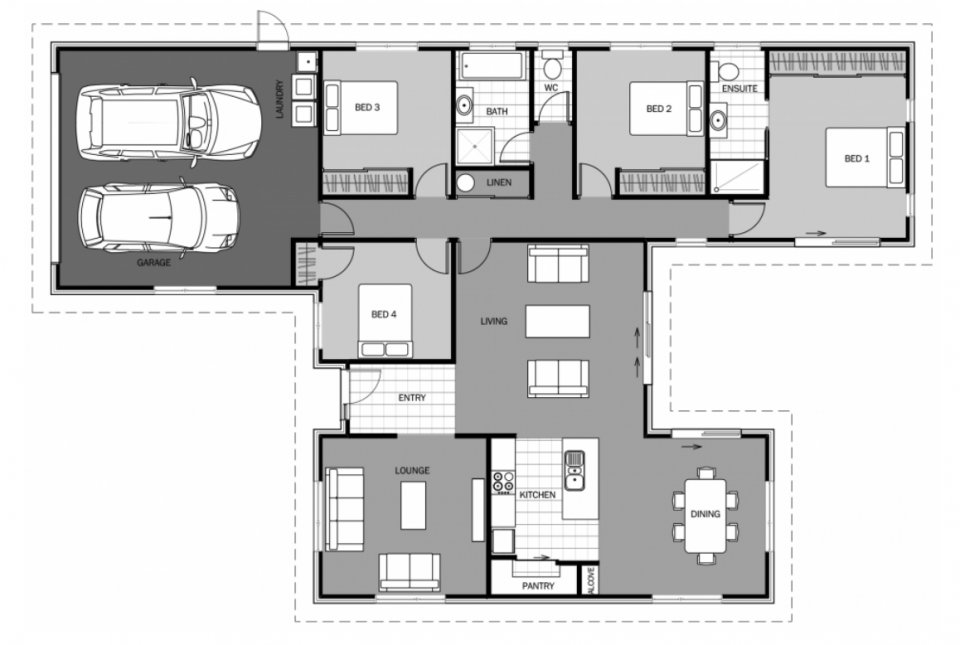 Best New Home Designs House Plans Nz Home Builders With Pictures