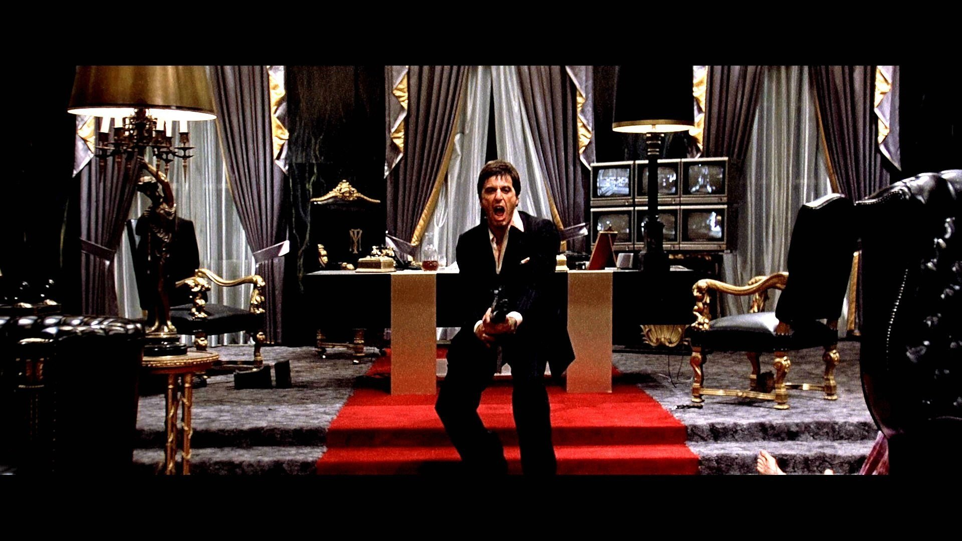 Best Scarface Mural Wallpaper ·① Wallpapertag With Pictures