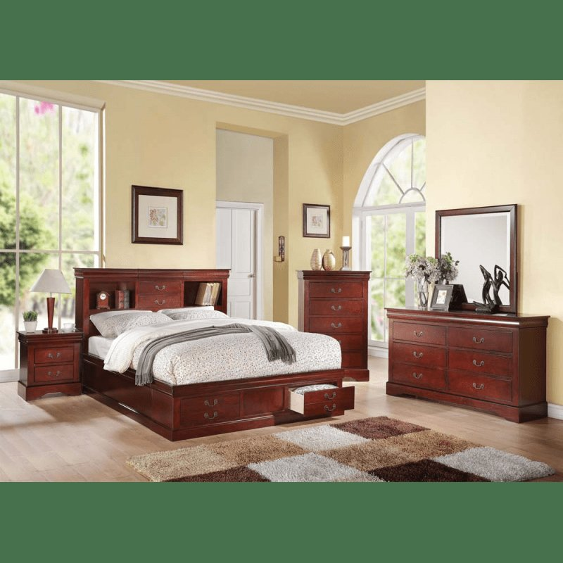 Best Louis Philippe Iii 4Pc Bedroom Set With Pictures