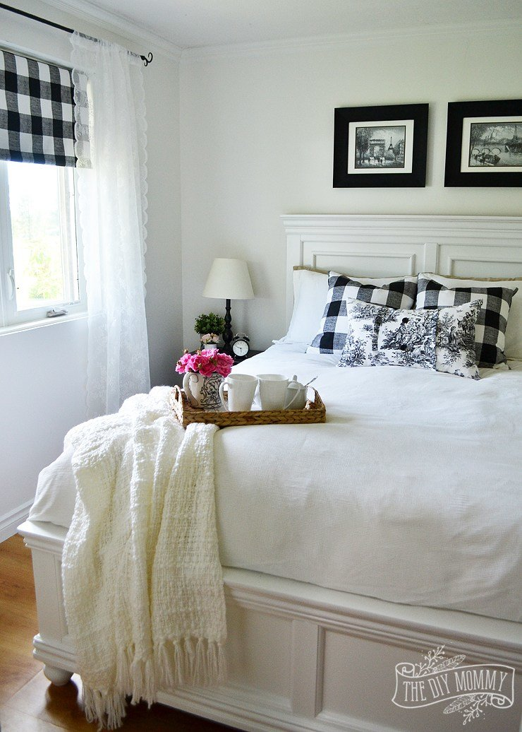 Best Our Guest Cottage Bedroom A Small Space On A Budget In With Pictures