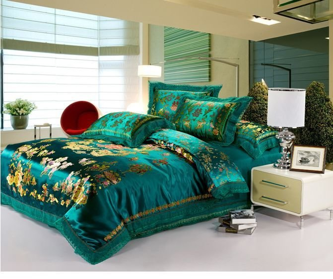 Best Teal And Gold Comforter Tloishappening With Pictures