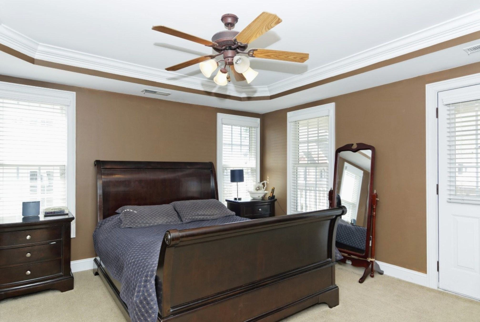 Best Ceiling Fan For Small Bedroom Best Size Fans Rooms Menards With Pictures