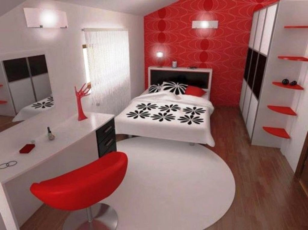 Best 20 Striking Red Black And White Bedroom Ideas With Pictures