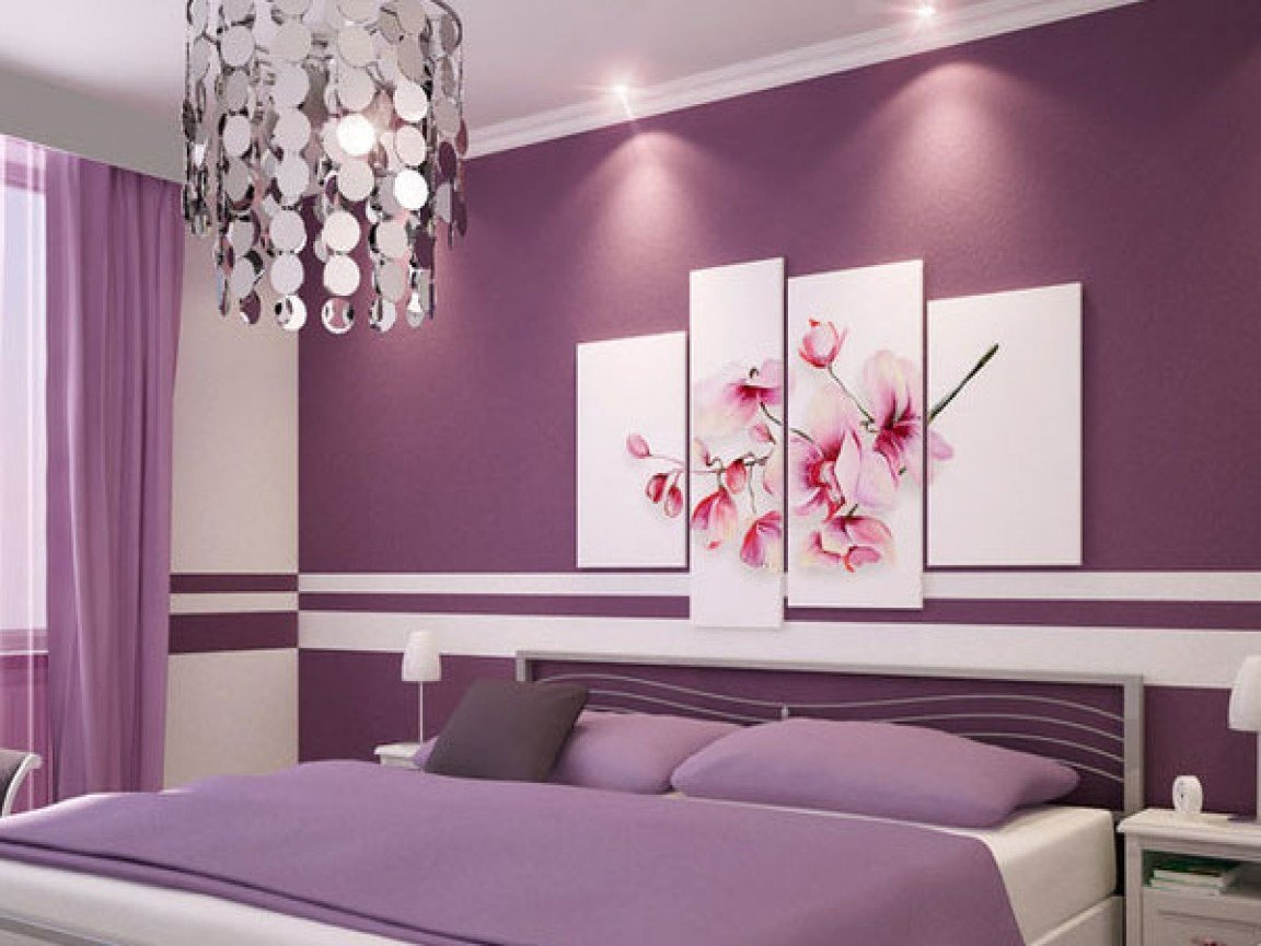 Best Purple And Grey Bedrooms Brown Paint Colors For Bedrooms With Pictures