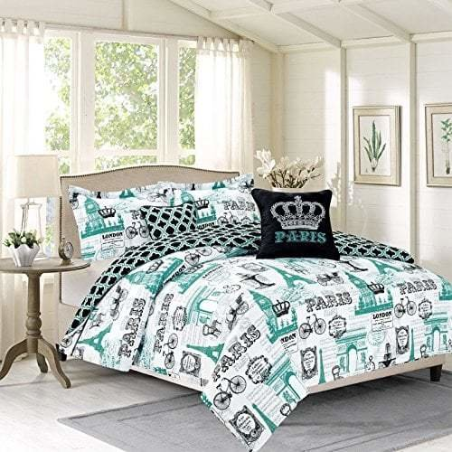 Best Paris Themed Bedding With Pictures