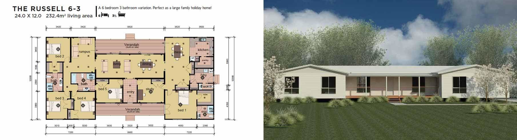 Best 4 6 Bedroom Manufactured Home Design Plans Parkwood Nsw With Pictures