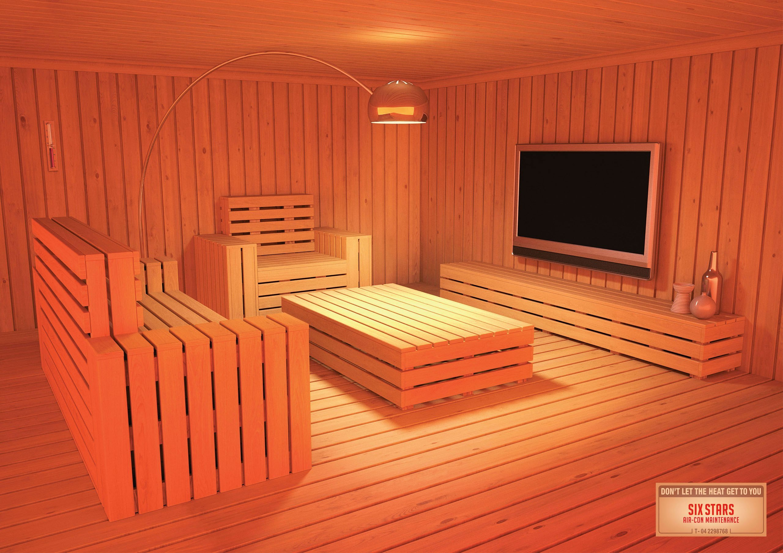 Best Six Stars Air Con Maintenance Living Room Sauna Bedroom With Pictures