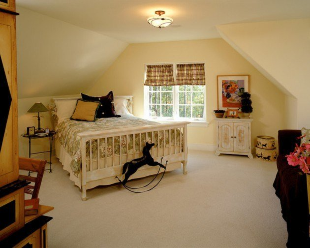 Best 26 Brilliant Bedroom Designs Ideas With Sloped Ceiling With Pictures