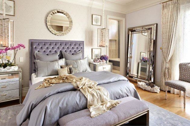 Best 27 Creative Ways To Decorate Fantastic Feminine Glam Bedroom With Pictures
