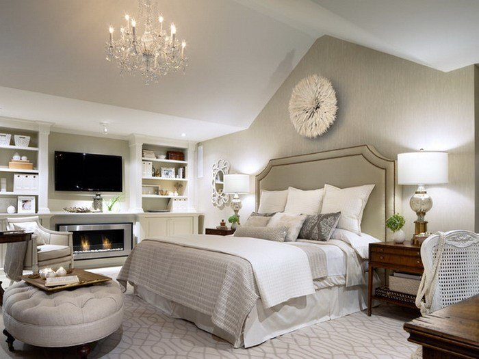 Best 14 Gorgeous Master Bedroom Designs With Beautiful Fireplace With Pictures