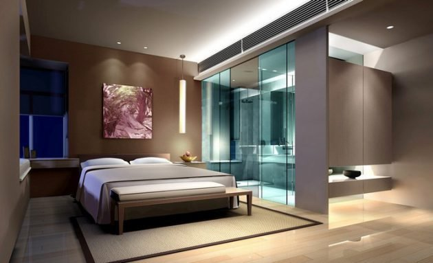 Best 19 Outstanding Master Bedroom Designs With Bathroom For With Pictures