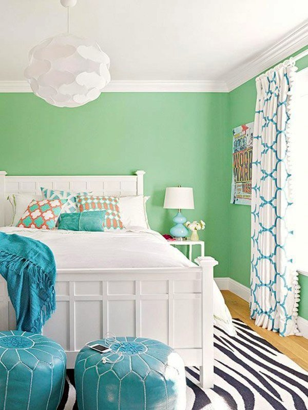 Best Bright Wall Colors – How To Apply Them Effectively With Pictures