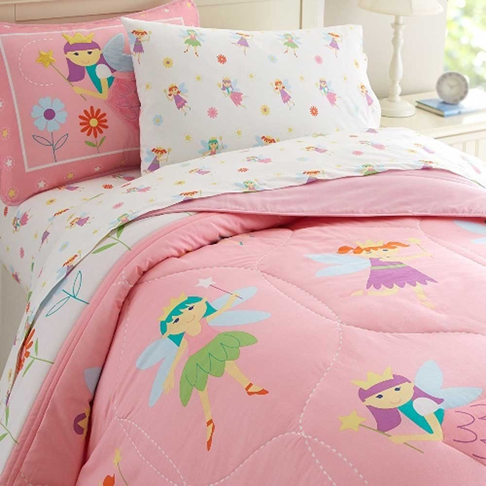 Best Olive Kids Bedding Fairy Princess Twin Size With Pictures