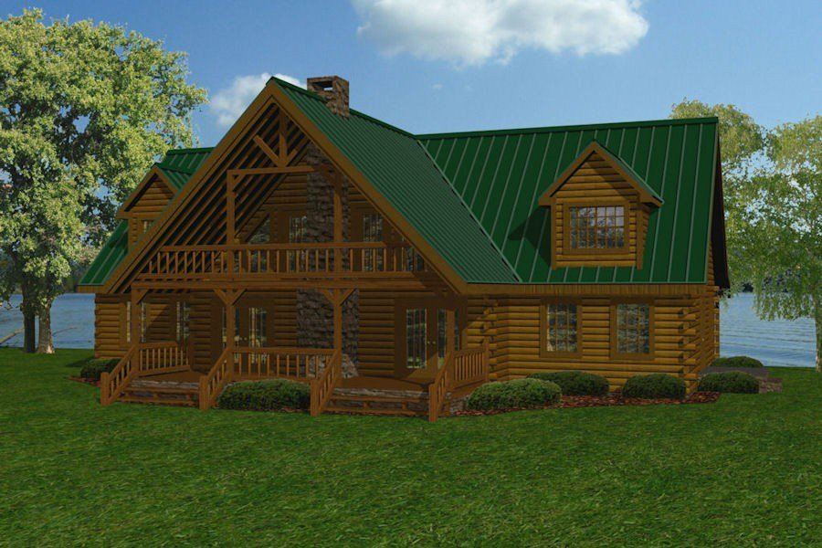 Best Large Log Cabin Floor Plans With Pictures