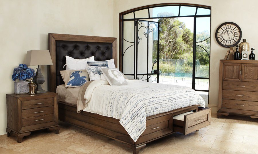 Best Florence Queen Size Timber Bed Bedshed Bedshed With Pictures