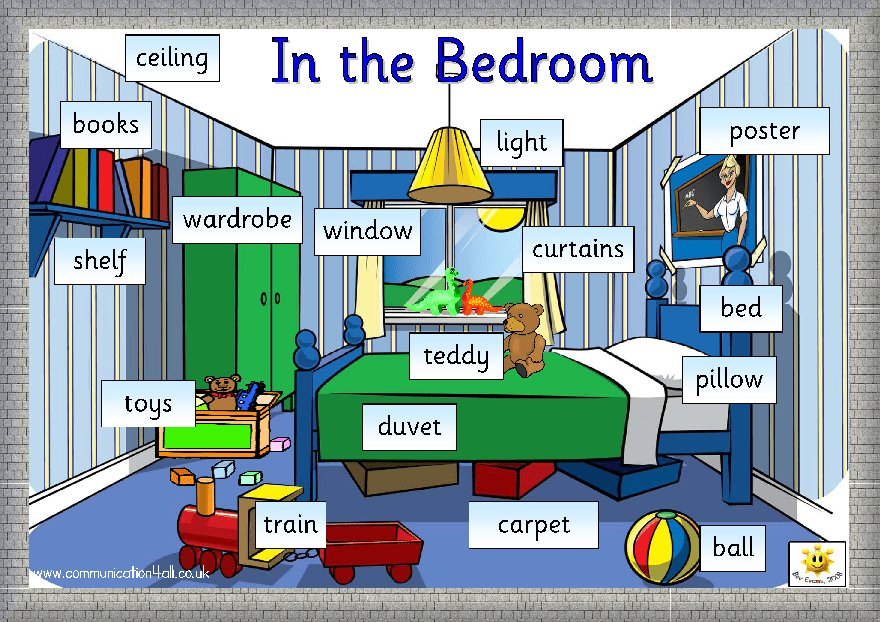 Best English Kids Fun In The Bedroom With Pictures