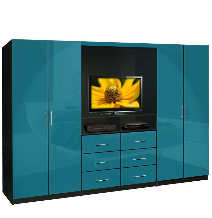 Best Aventa Tv Wardrobe Wall Unit Free Standing Bedroom Tv Unit Contempo Space With Pictures
