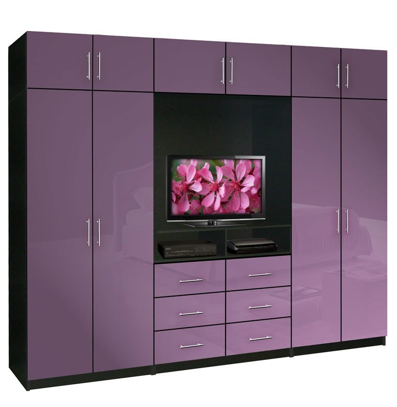 Best Aventa Tv Wardrobe Wall Unit X Tall Bedroom Tv Furniture Plus Storage Contempo Space With Pictures