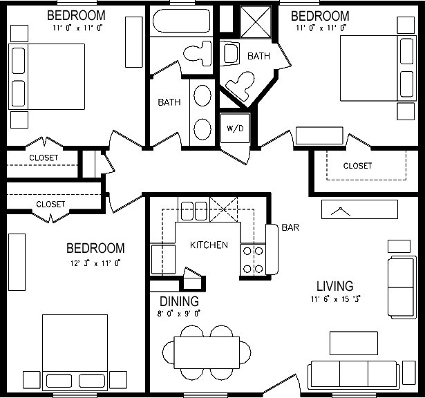 Best 1000 Images About Apartment Floor Plans On Pinterest With Pictures