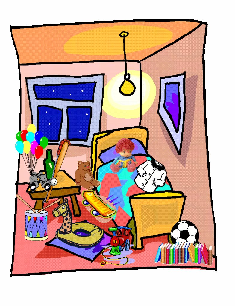 Best Messy Room Clipart Clipart Suggest With Pictures