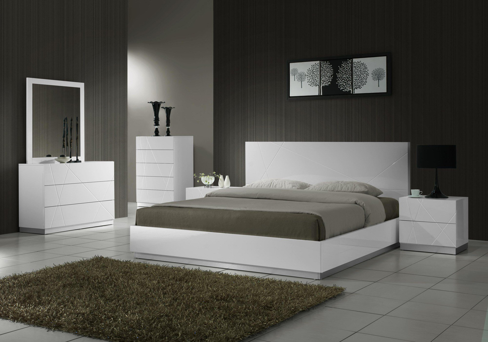 Best Naples Modern Bedroom Set With Pictures