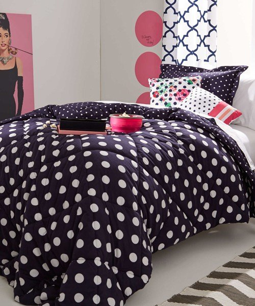 Best Polka Dots Bedding Little Girls Bedding Set With Pictures