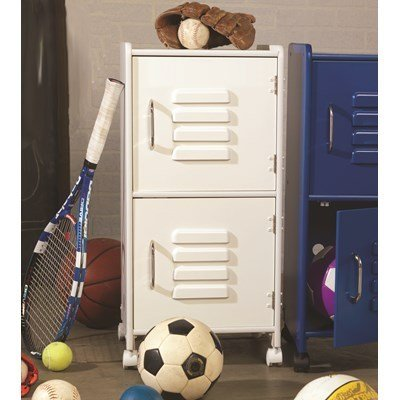 Best Kids Locker Cupboard In White Kid Kraft Cuckooland With Pictures