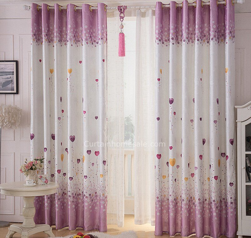 Best Eco Friendly Purple And White Linen Cotton Kids Bedroom With Pictures
