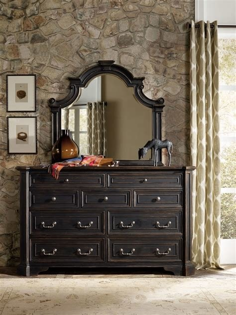 Best H**K*R Furniture Sanctuary Bedroom Collection Antique With Pictures