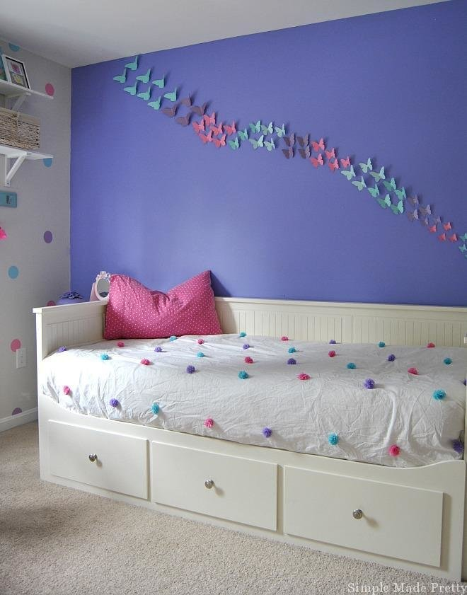 Best Girls Bedroom Home Decor That You Can Diy On A Budget Simple Made Pretty With Pictures