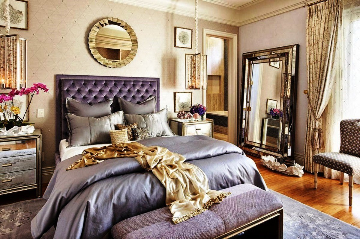 Best Modern Glam Bedroom Modern Glam Interior Design Pink With Pictures