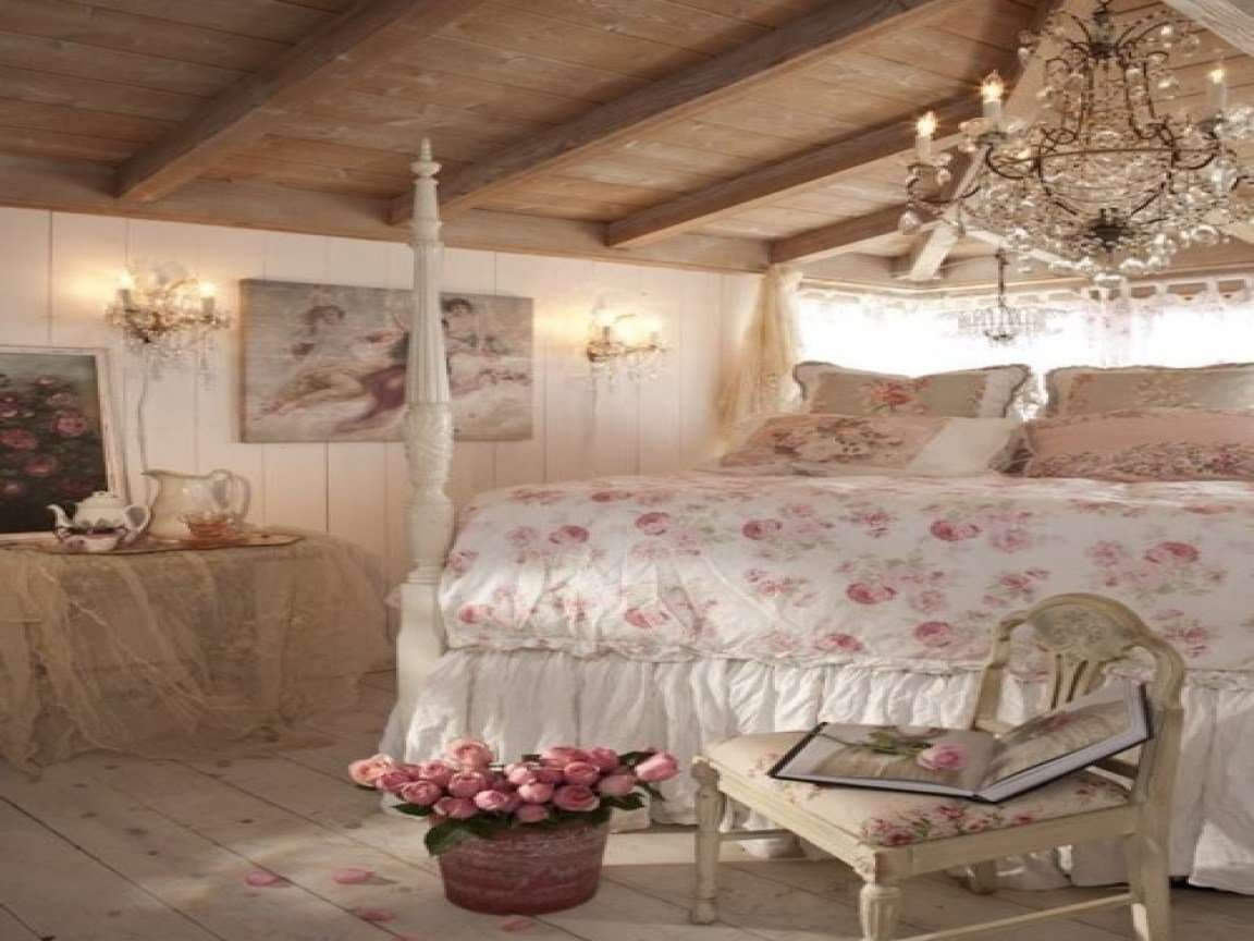 Best French Vintage Home Decor Romantic Shabby Chic Bedroom With Pictures
