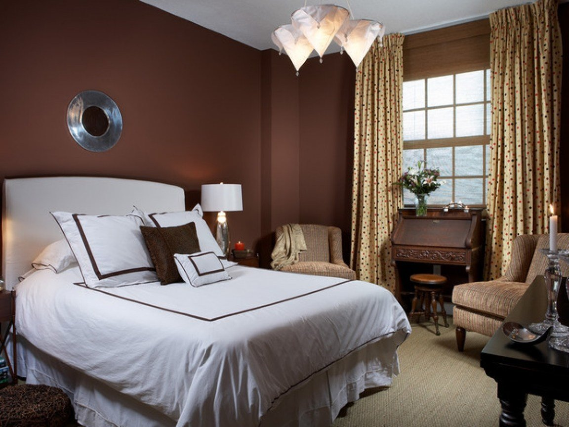 Best Chocolate Brown Bedroom Ideas Wall Color Combinations With Pictures