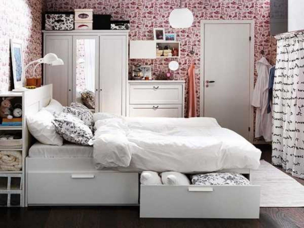 Best Bedroom Storage Ideas For Small Spaces Space Saving With Pictures